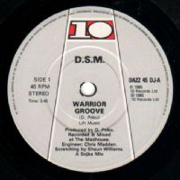 "DSM-Warrior Groove (Secondhand First Release) [12"" Single 1985]"